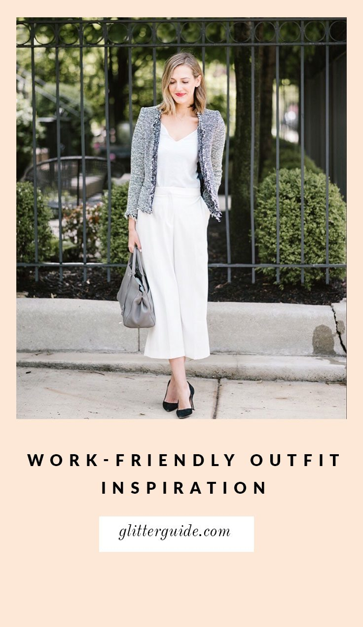 7 outfits to inspire your work wardrobe this fall glitter guide
